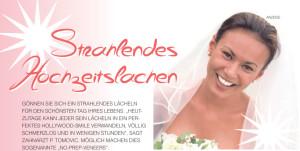 Ein Angebot für ein strahlendes Hochzeitslachen von Zahnarztpraxis P. Tomovic in Frankfurt Westend